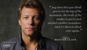 Jon Bon Jovi Soul Kitchen...