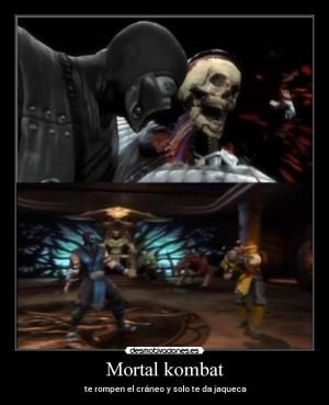 Mortal Kombat desmotivaciones