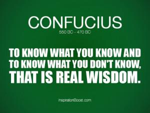 Confucius Wisdom Quotes