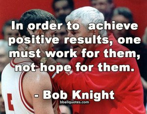 ... Bobby Knight Quotes. Click on a quote to open an image with the quote
