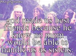 More like sisters....