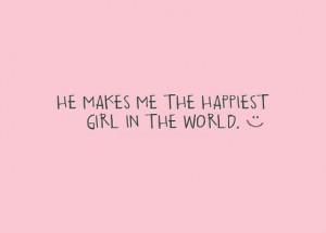 he makes me happy quotes