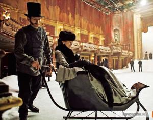 Keira Knightley e Aaron Johnson em novas fotos de Anna Karenina