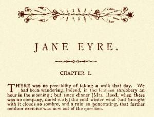 Jane Eyre by Charlotte Brontë (1847).
