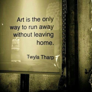Twyla Tharp quote