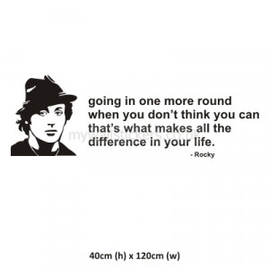 Rocky Quotes Wallpaper Rocky