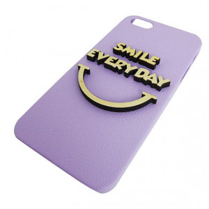 Smile Everyday 3d Wood Quote For Iphone 5 Iphone by MyLibellule, $9.99