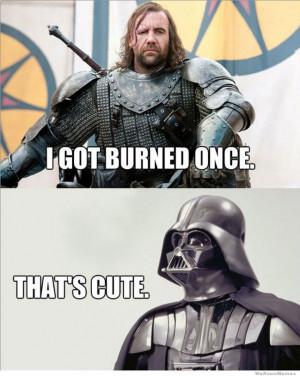 Best Of The Star Wars Vs Game Of Thrones Meme