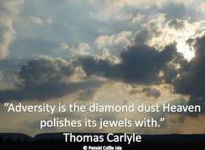 Adversity, challenges