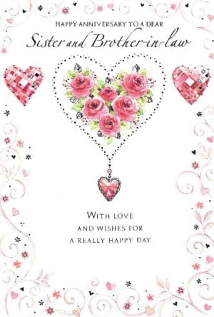 Wedding Anniversary Quotes For Sister QuotesGram