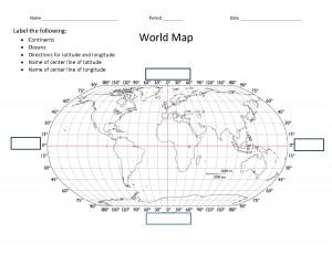 World Map Printable With...