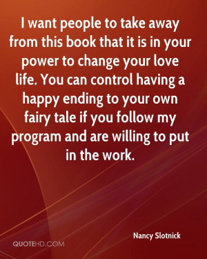Want People To Take Away From This Book That It Is In Your Power To ...