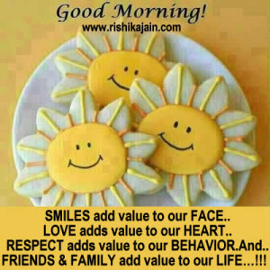 ... adds value to our heart respect adds value to our behavior and friends