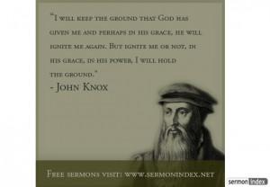 John Knox Quote