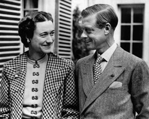 ... He abdicated his throne in 1936 for love. He married Wallis Simpson