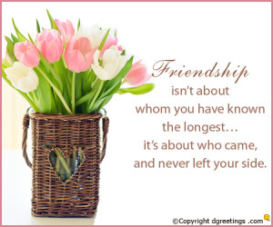 Friendship Greeting Card Quotes