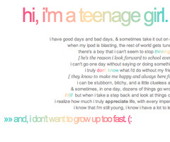 quotes for teenage girls tumblr Related For Teenage Girl...