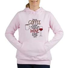 Cute Funny wine sayings Women's Hooded Sweatshirt