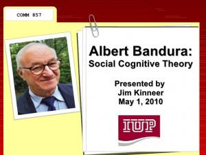 Albert Bandura Social Learning Theory Albert bandura & social
