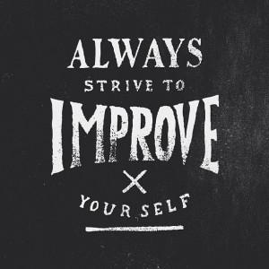 Be a work in progress!