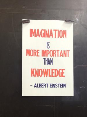 ... albert einsteinfamous quote on imagination of einstein quotes about