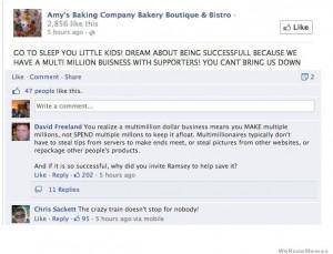 Amy Baking Pany Facebook