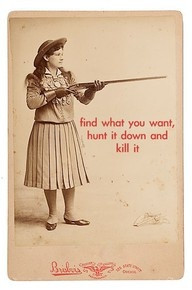 Annie Oakley was the first biography I read.