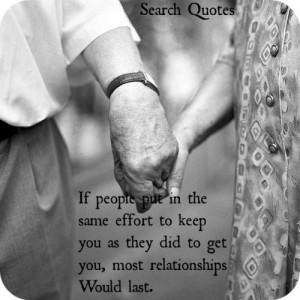 Effort Relationship Quotes Relationship effort quotes