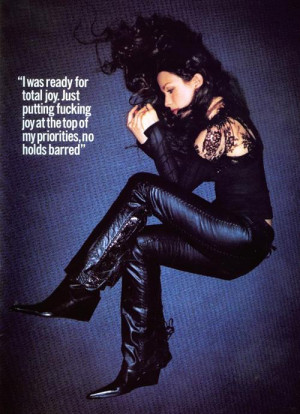Great Alanis Morissette quote and pic!!! in by
