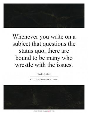 Quo Quotes