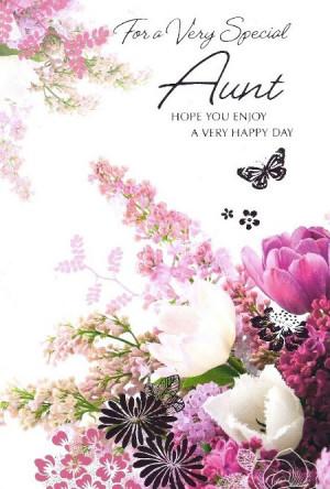 Aunt Birthday Cards