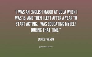 English Major Quotes