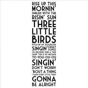 ... -With-the-Risin-Sun-Three-Little-Birds-wall-sayings-home-decor.jpg
