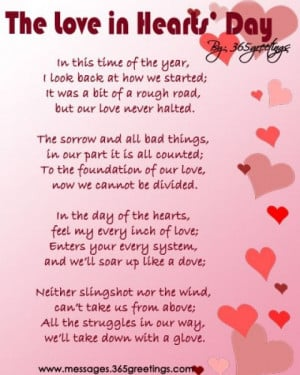 Happy Valentines Day Mother In Law Poems