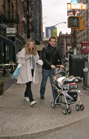 Jacinda Barrett And Gabriel Macht Family