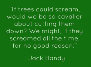 Warped humor from Jack Handy.