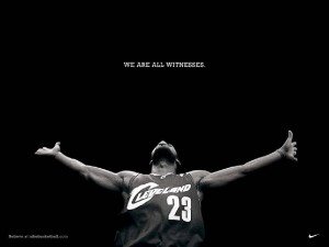 LeBron James Witness Wallpaper - Cleveland Cavaliers...