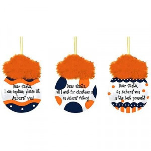 Auburn Sayings Holiday Ornament 3 Pack