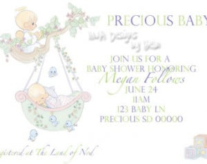 Precious Moments Baby Girl Angels 2 precious moments baby shower