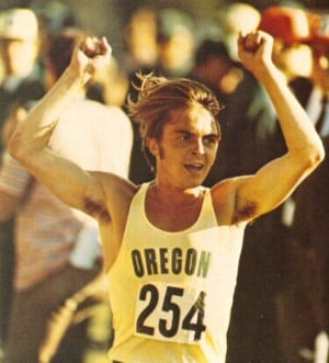 The real Steve Prefontaine (note Billy Crudup's resemblance below)