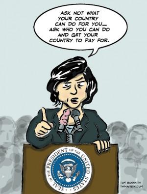 Hayride Cartoon: Inauguration Day 2033?