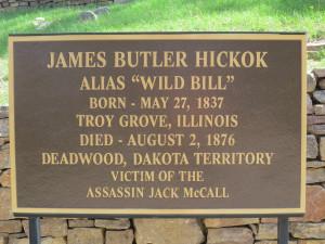 James Butler Hickok...