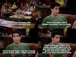 funny friends quotes ross