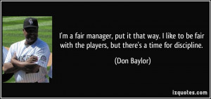 More Don Baylor Quotes