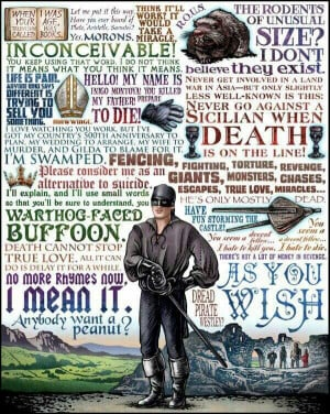 The Princess Bride quotes.