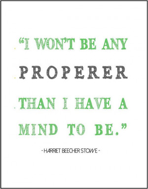 Harriet Beecher Stowe quote typography by JenniferDareDesigns, $8.00
