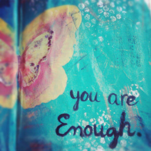 you-are-enough doubltime twins