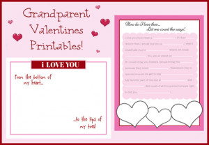 Valentine's for Grandparents