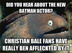 Funny Pictures | quotes animals | Ben Affleck is the new Batman