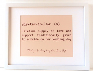 ... Art, Art Sayings, Family Word Art, Sister In Law. ... | Qu